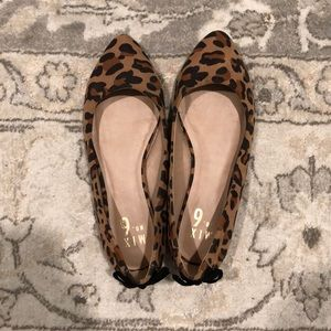 MIX No. 6 cheetah print flats